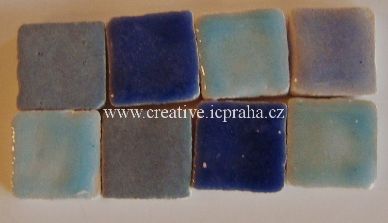 mozaika Liliput Ceramic cca100g L92-10c modrý mix 6c5e4ebc3f3