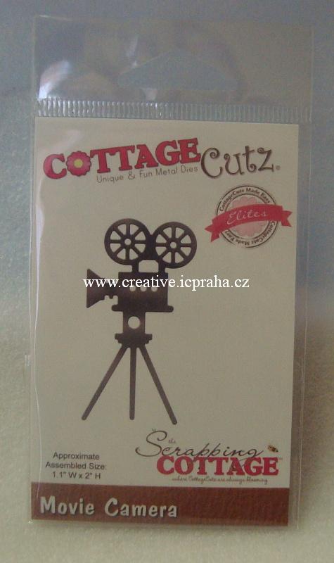 vyřezávací šablona  COTTAGE Cutz Kamera CCE383