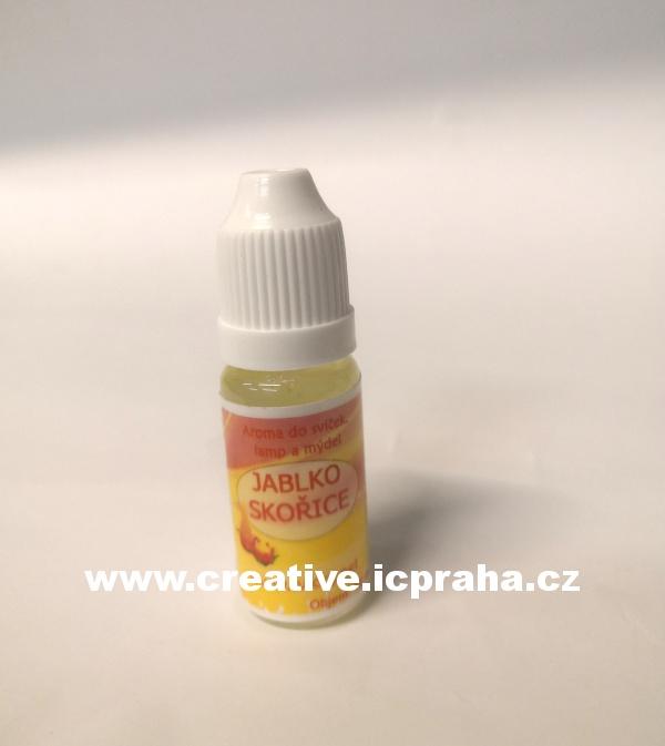 aroma JABLKO+SKOŘICE universální 10ml