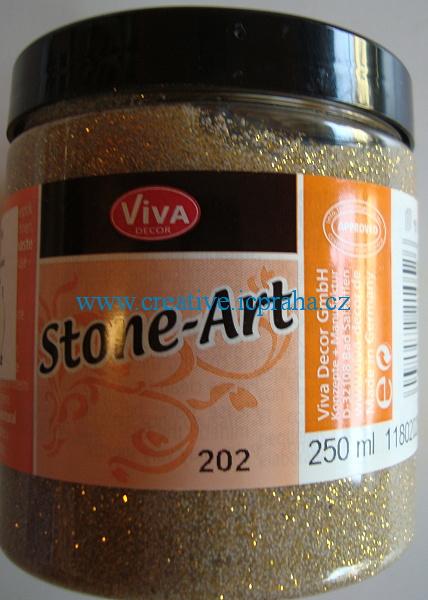 Kamenná barva 250ml - Sandgold 118020250