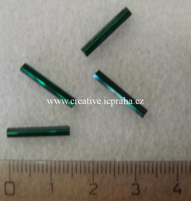 čípky 15mm zelené tm. 20ks