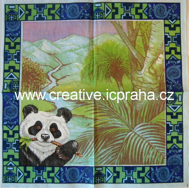 Čína - panda  AHA