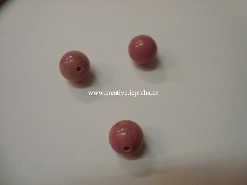 minerály kulička 8mm Rhodochrosite bal.10ks