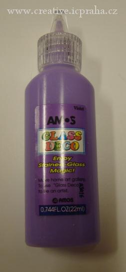 slup.barva AMOS 22ml violet (fialová) C4A06