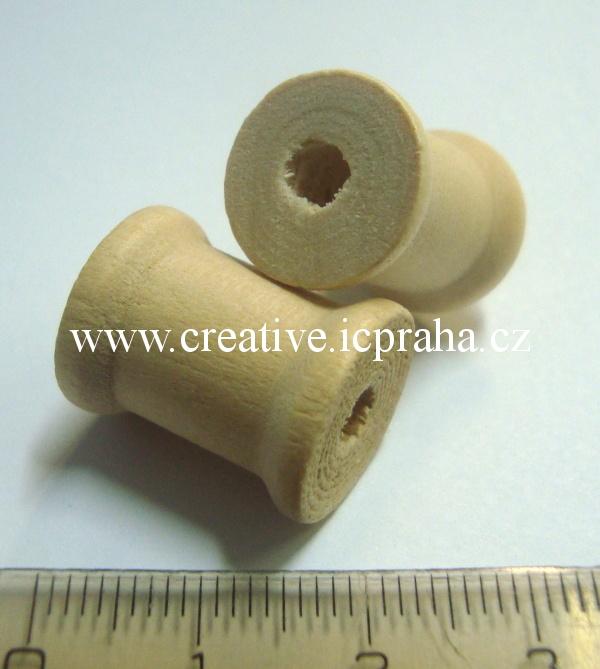 dřevěná cívka 15x19mm