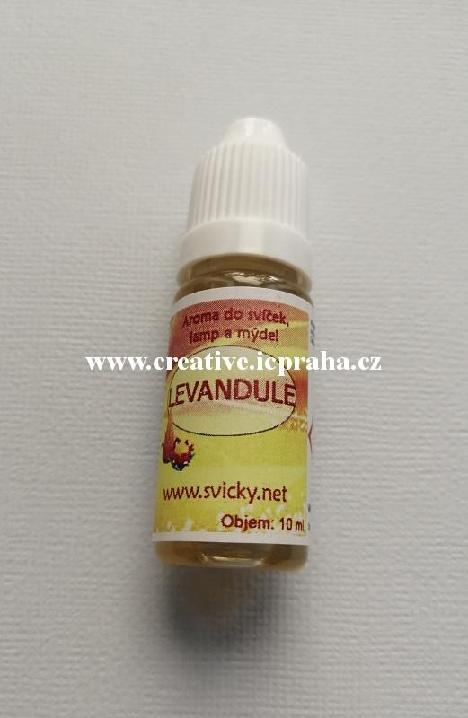 aroma LEVANDULE svíčky,gely,mýdla 50ml
