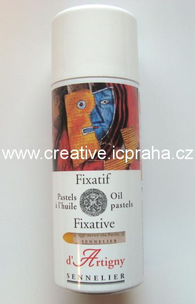 Fixace spray 400ml na olejový pastel