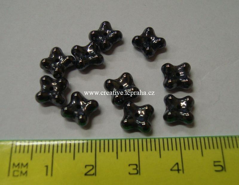 kytičky 7mm hematit 30ks