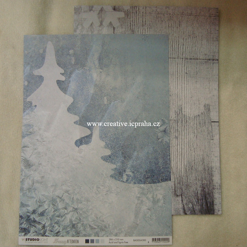 StudioLight - Snowy A4/mráz maluje