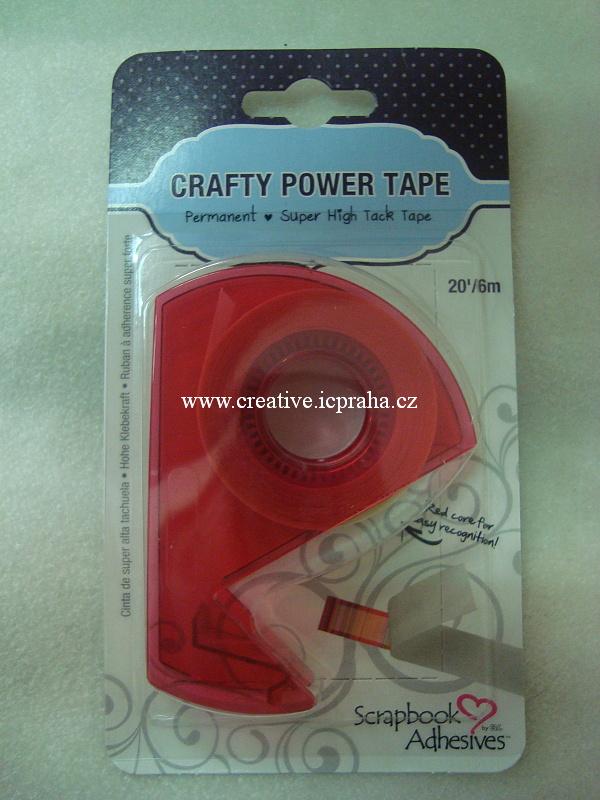 Roller lepící páska - 6,5mmx6m Transparent