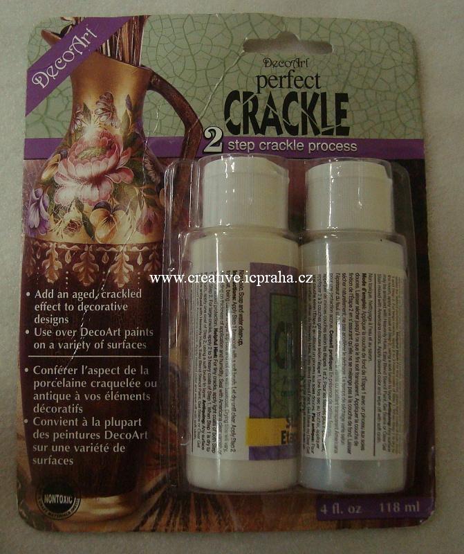 Perfect Crackle - dvousložkové medium