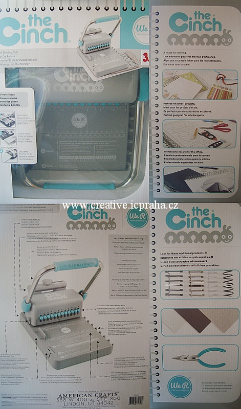 Cinch Bindery - stroj na kroužkovou vazbu We R