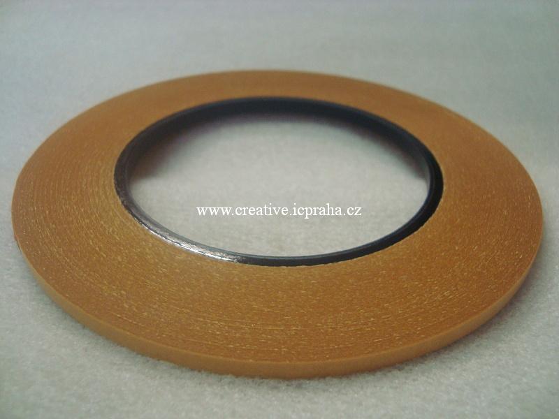 lepící páska na textil - oboustranná 4mm /50m