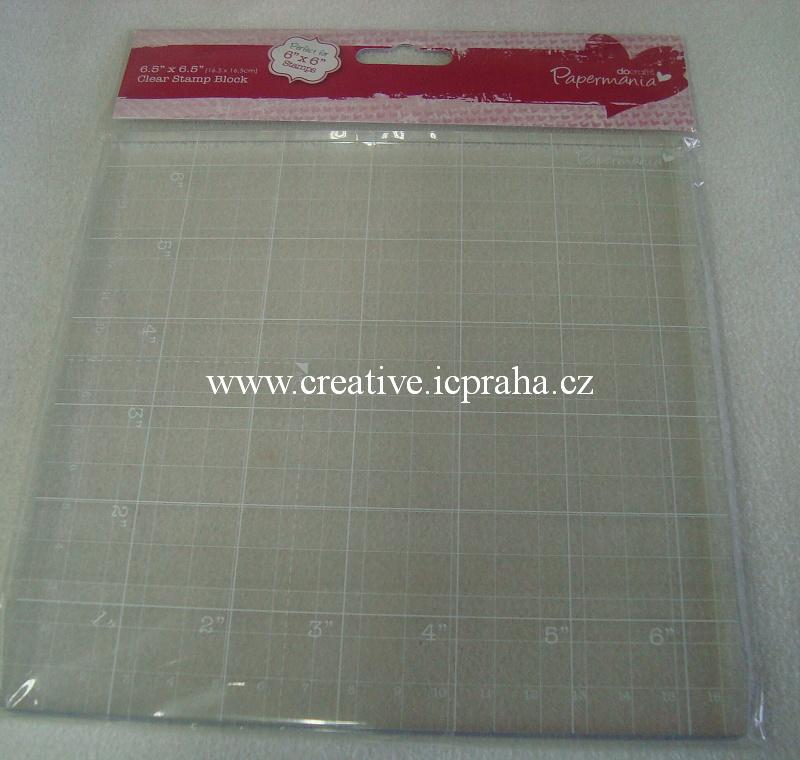 destička na razítko 16,5x16,5cm PMA9031006