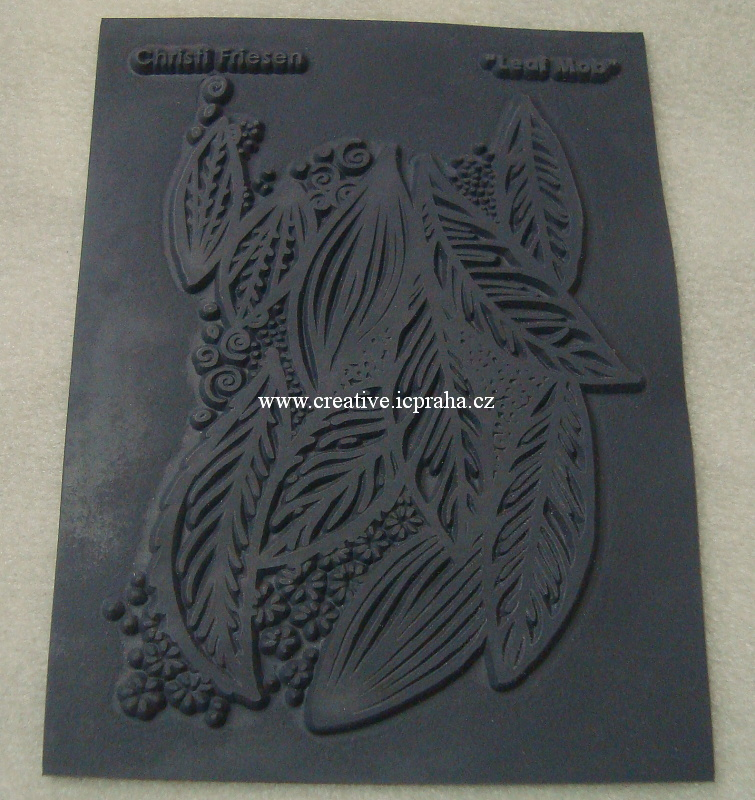 textura Christi Friesen - Leaf mob 10x14cm