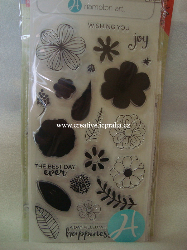 raz.clear Hmpt.Art -  Flower Joy 8x20cm  SC0749