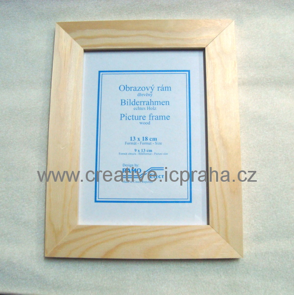 fotorámeček se sklem 18x13cm lišta 3cm