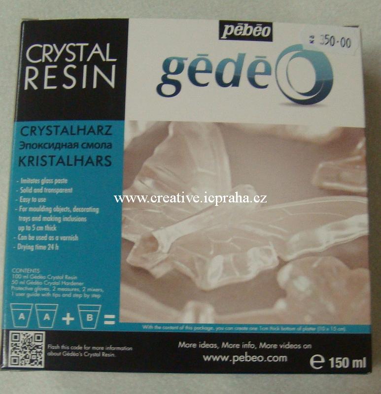 Křišťálová pryskyřice Gédeo 150 ml 766150