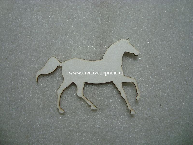 výřezy koně 3ks 6x4cm