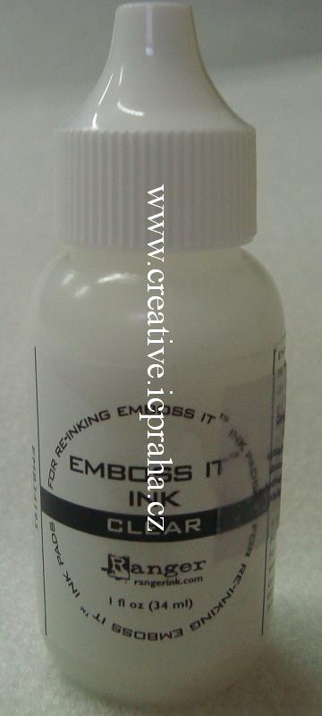 medium pro embos - čirá náhr. náplň33ml EMB34193