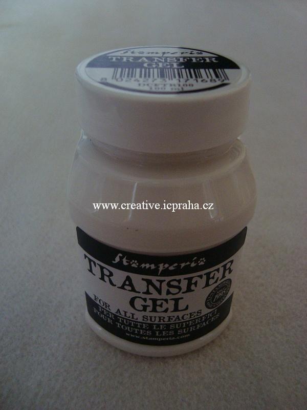 Transfer gel Stamperia 10ml