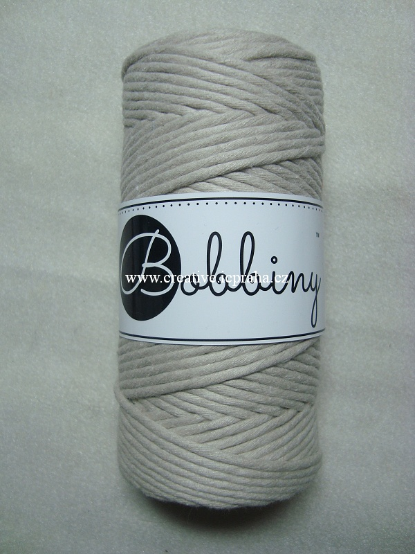 BobbinyMacrame Regular100m/3mm - Beige