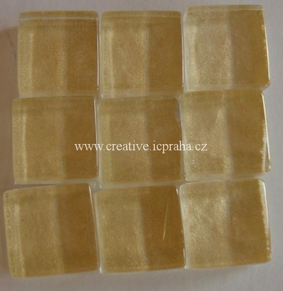 mozaika Soft-Glass cca 200g S71-10b zlatá