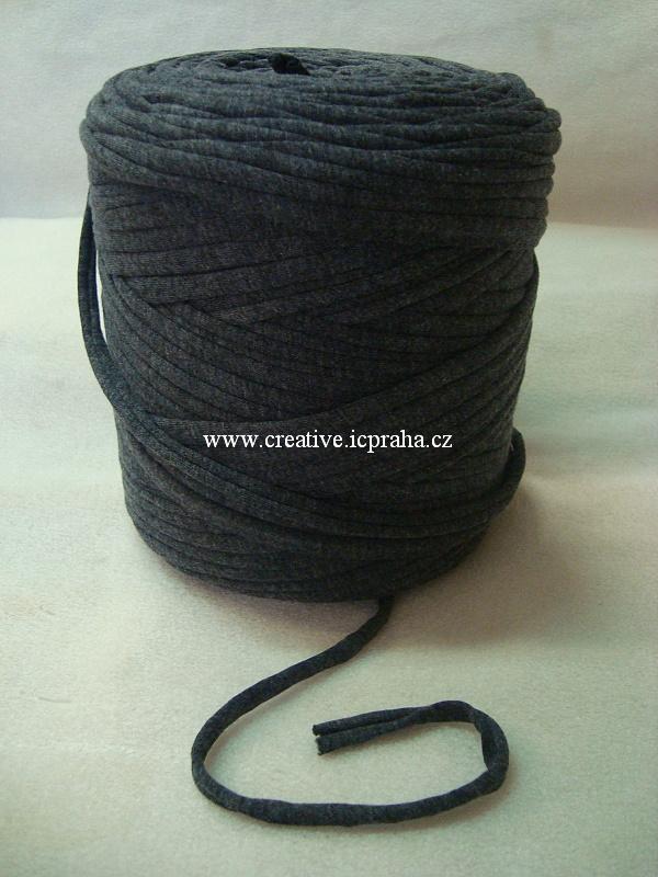 Noodle 120m - šedá Ocel /Iron 95090