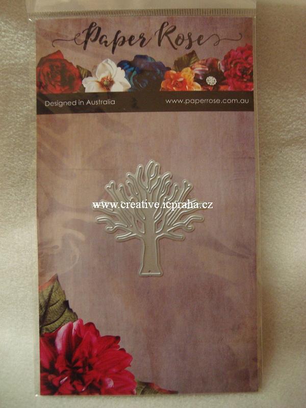 vyřezávací šablona  Paperrose - Stromek