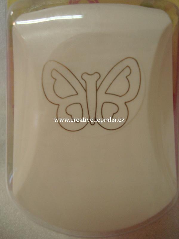 raznice 3,2cm embossing motýl