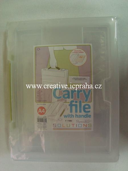organizér plast na A4  PMA9351003