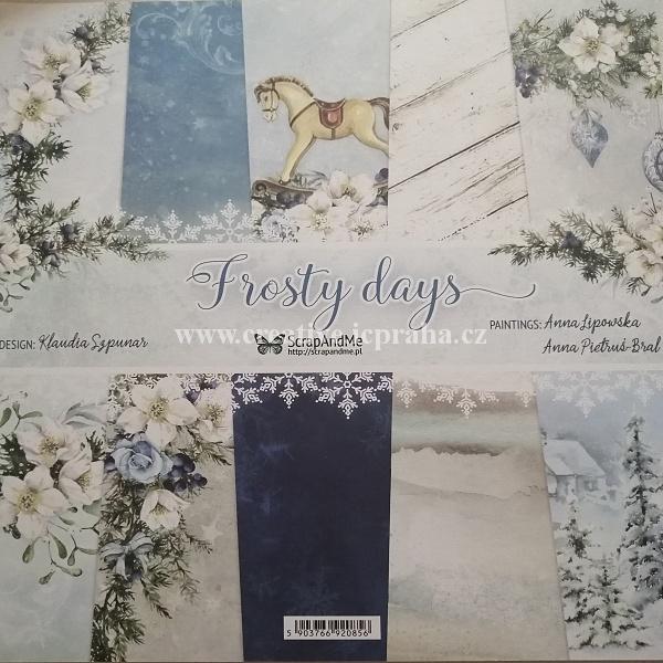sada barev. papiru 30.5x30.5cm - 180g/m2 - 24ks