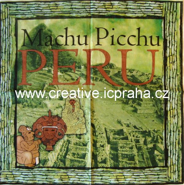 svět - indiánské město Machu Picchu AHA