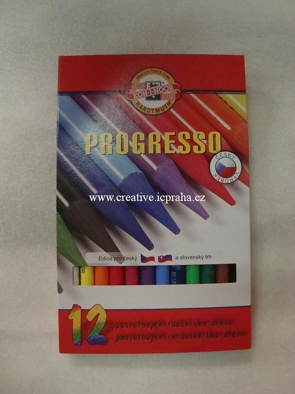pastelky Koh-i-noor/ Progresso12 barev