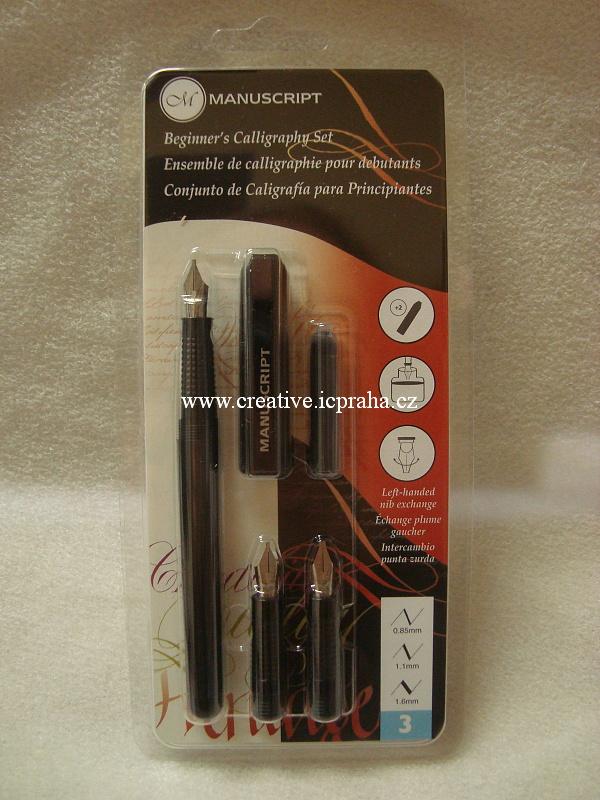 Kaligrafické pero - set 3 pro začátečníky