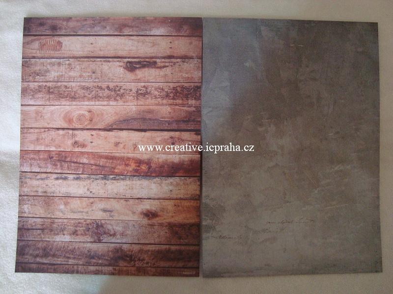 papír A4 190g/A4 Industrial dřevo