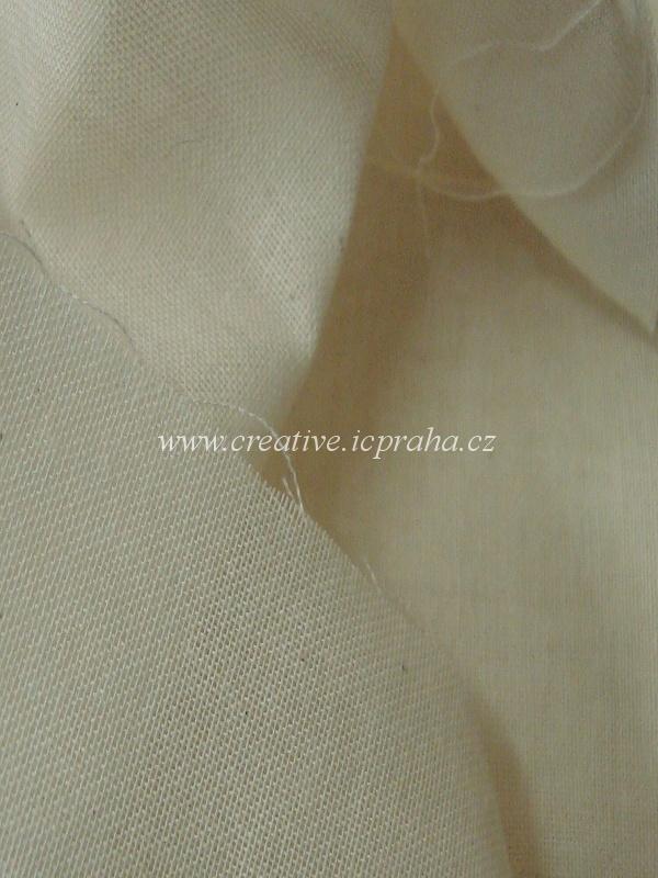 plátno režné š.145cm, 82g/m2, 100%bavlna, I.jak.