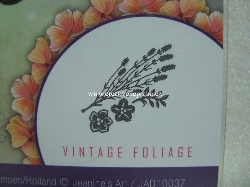 vyřezávací šablona  Vintage Flower - Levandule
