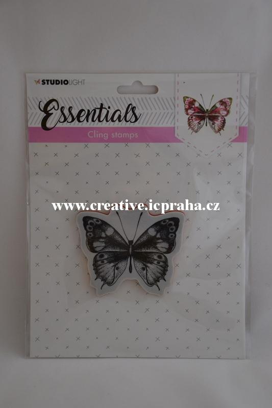 razítka Cling StudioLight -Motýl 8x7cm
