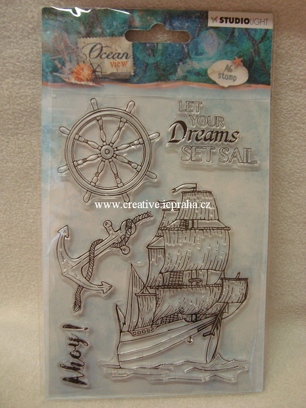 clear stamp StudioLight - Ocean Dreams 4ks