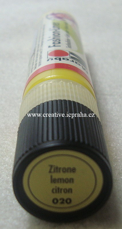 Fashion liner - citronová 020 25ml