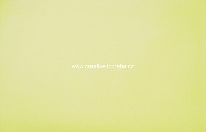 Foamiran 30x35cm - žlutá sv.