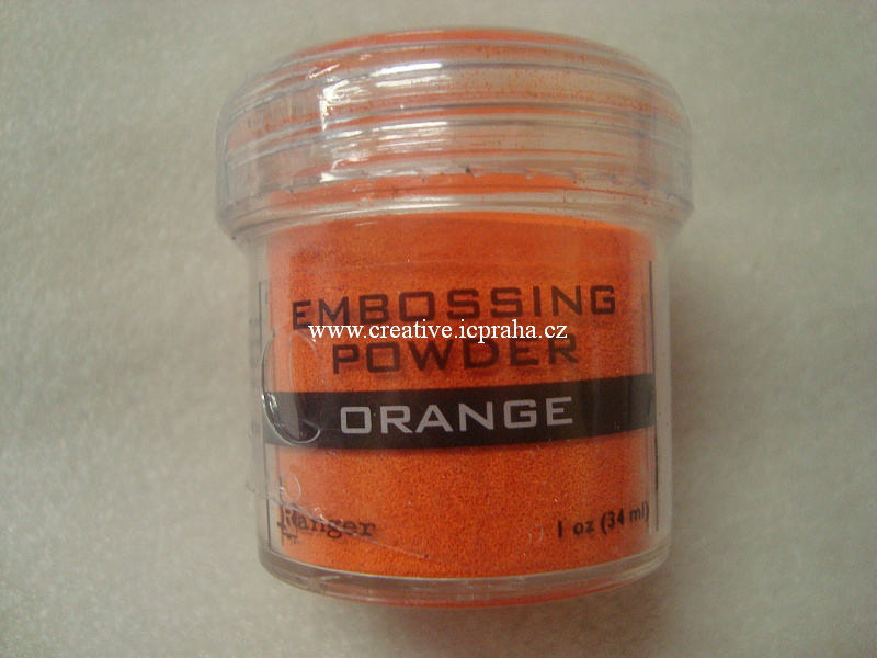 pudr na embos Ranger 34ml - Orange 36609