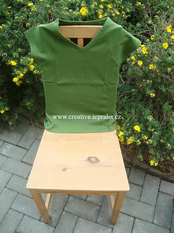 triko dámské Lambeste 0114 M - zelená avocado