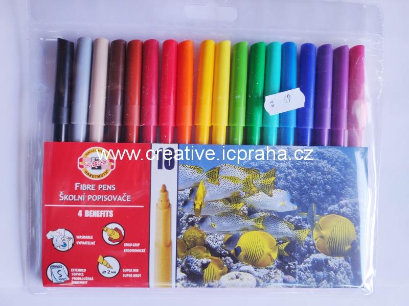 fixy koh-i-noor Magic - sada 10+2 1612