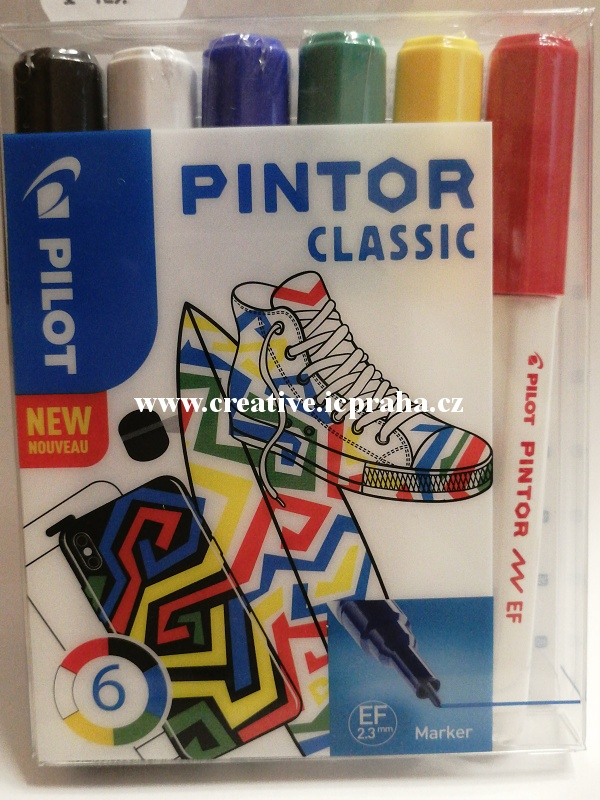 značkovače PINTOR classic 0,7 sada 6ks