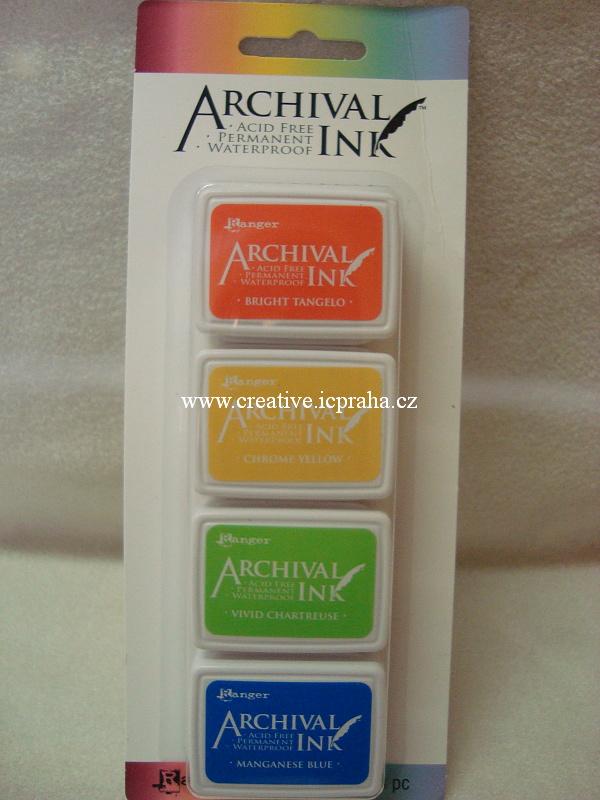 Archival Ink - 4barvy