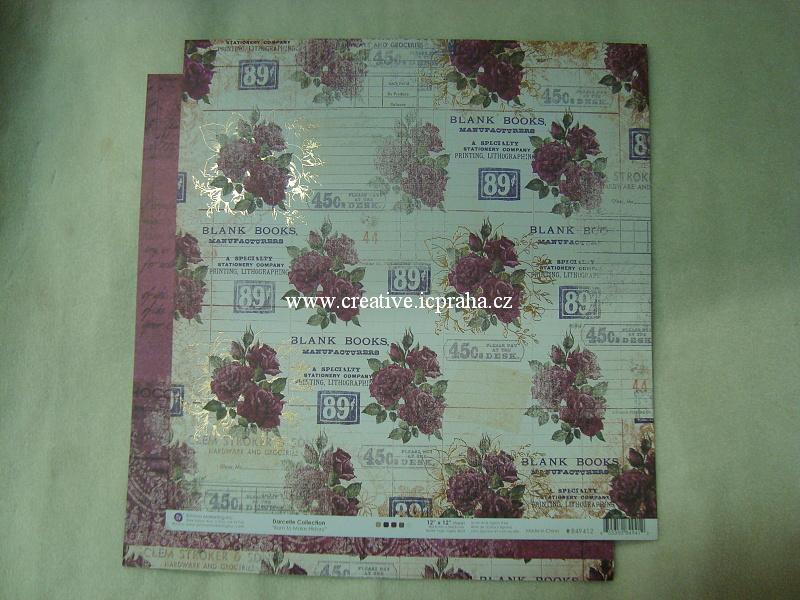 PrimaM Darcelle Blank Books 30x30/190g/m2
