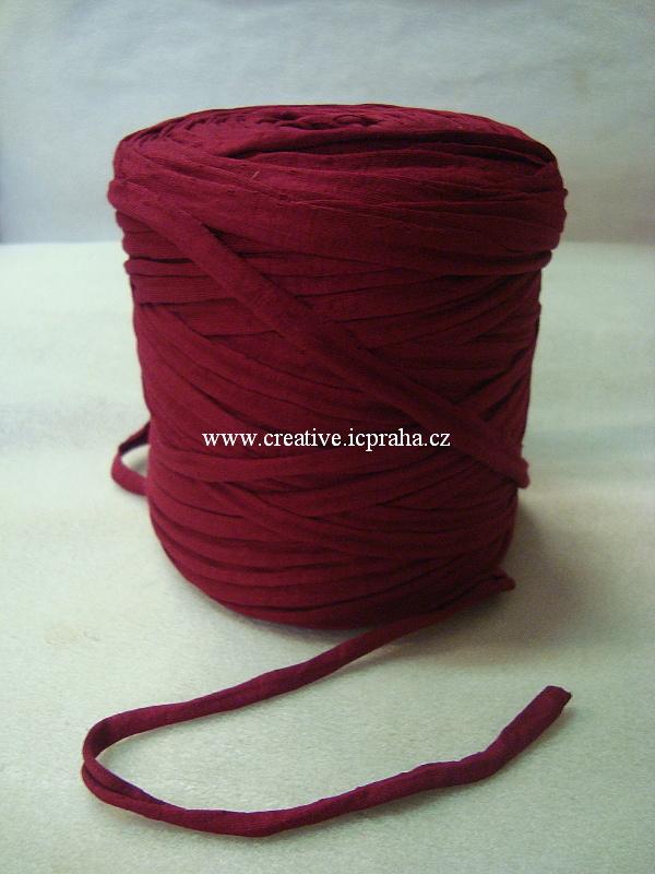 Noodle 120m - červená tm.  8014107