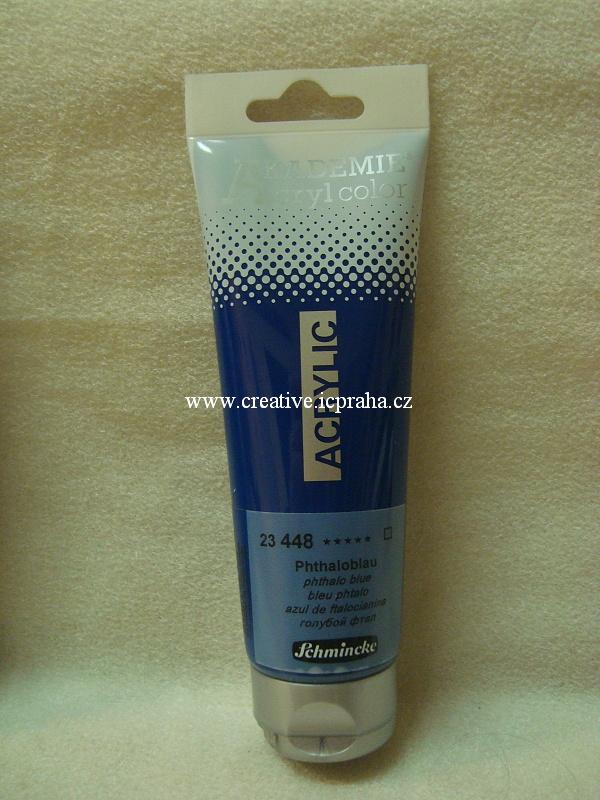 Schmincke Akademie - Akryl 120ml modrá azur 450